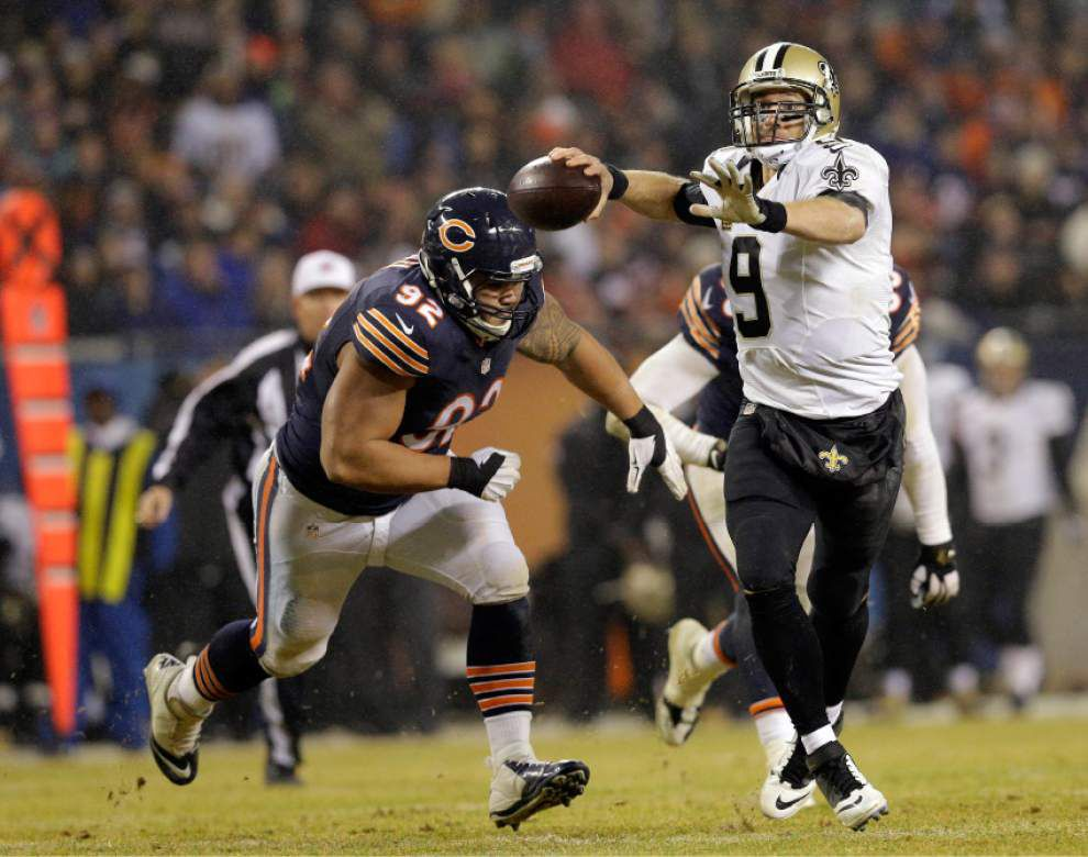 Drew Brees right on target as Saints roll over Bears _lowres