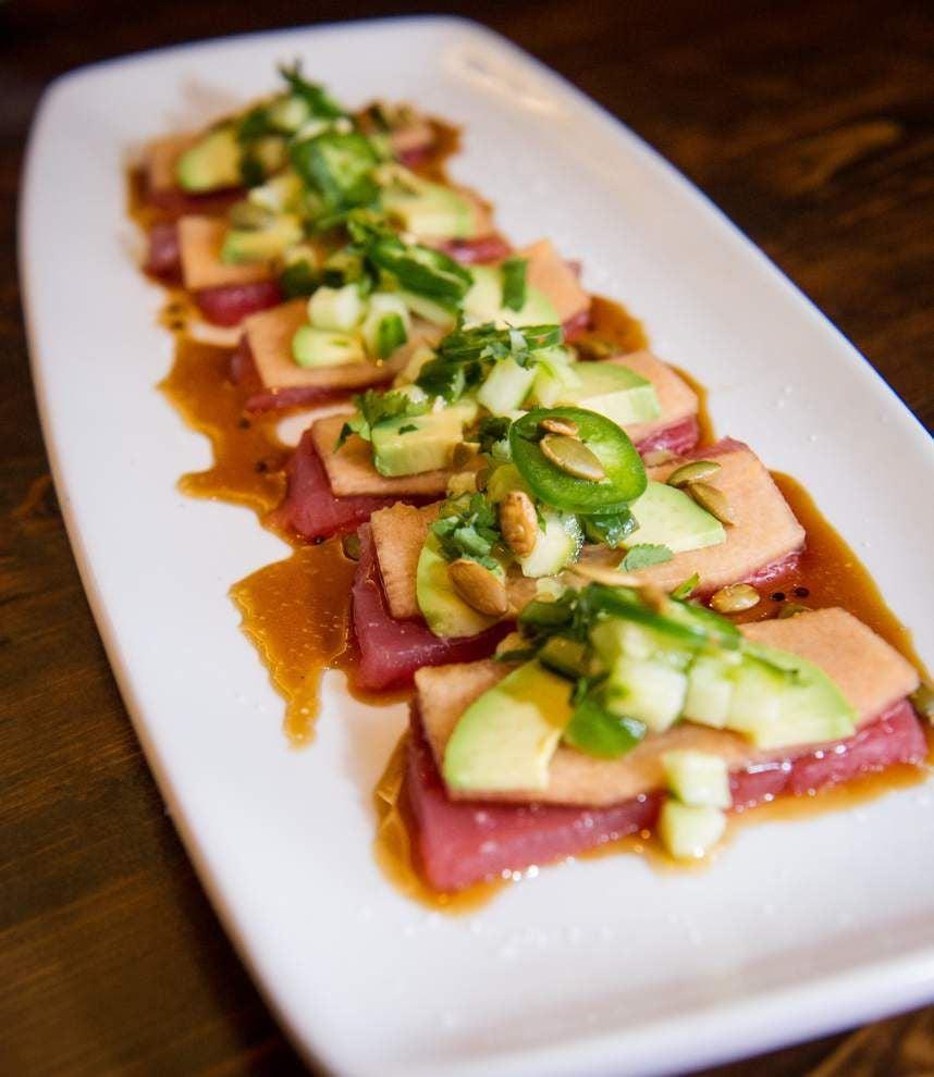 Digging In: Raw tuna, Peruvian style, makes splash at Mizado Cocina _lowres