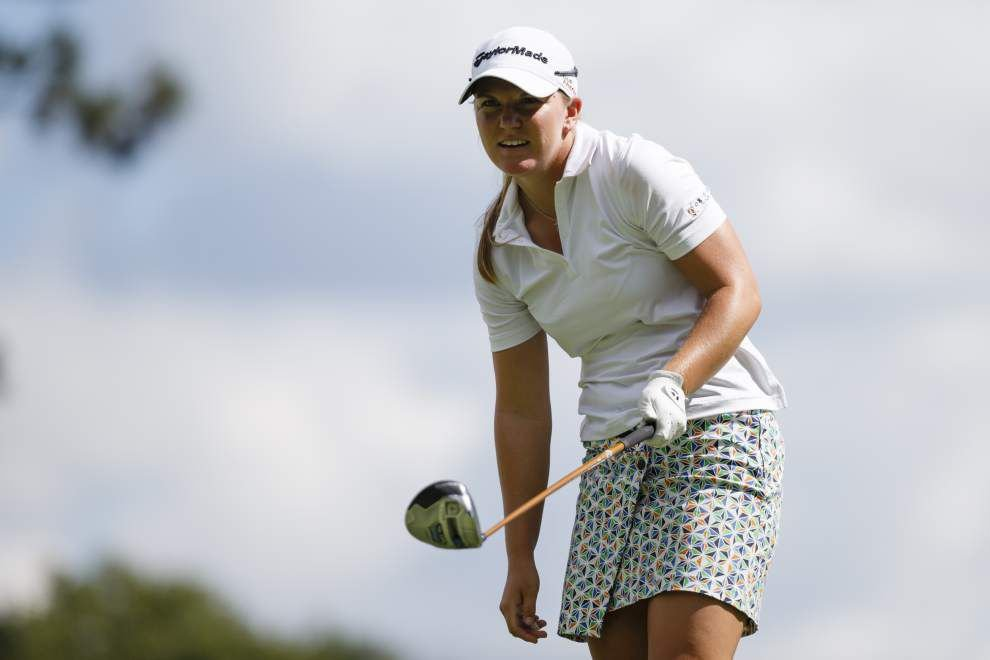 Laura Diaz leads at Marathon Classic; Austin Ernst tied for second _lowres