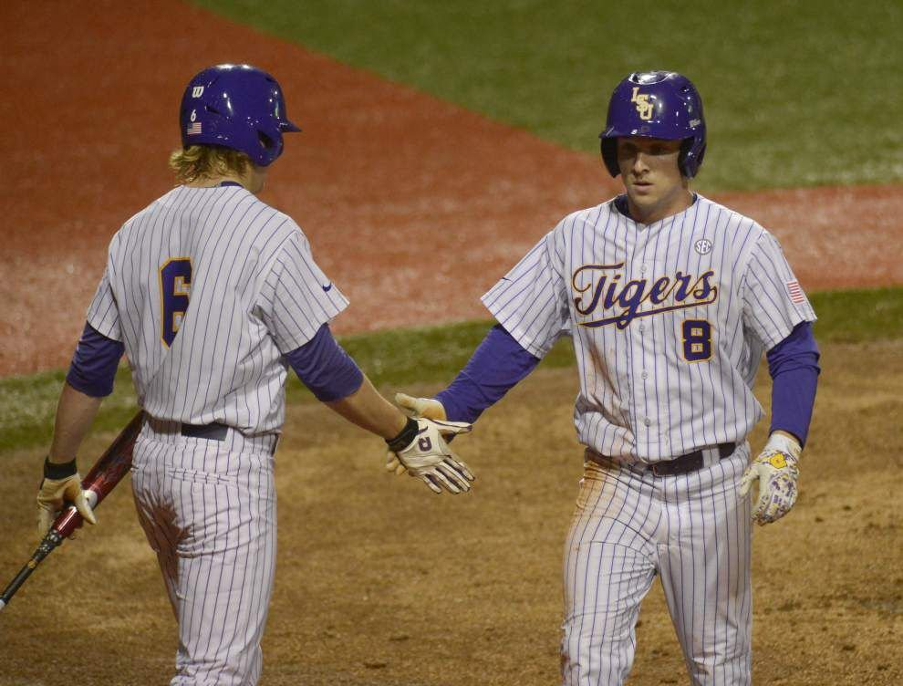 Kyle Bouman strikes out a career high in LSU's 8-1 win over Stephen F. Austin _lowres