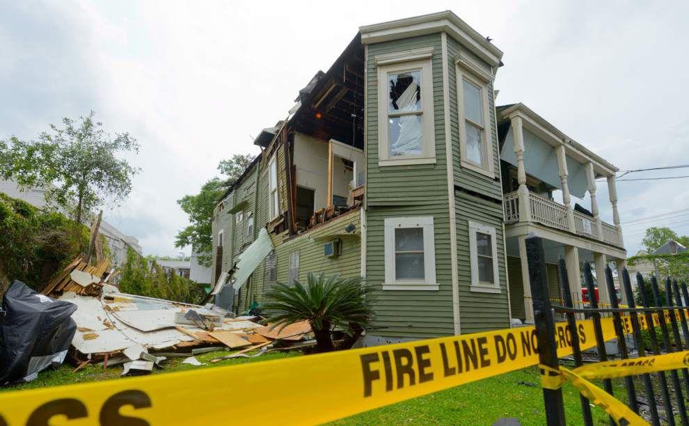 Fire damages Esplanade Avenue apartment building _lowres