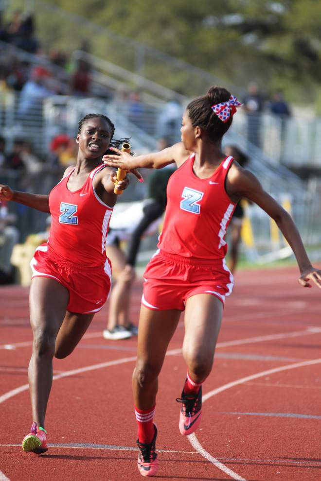 Zachary boys, girls blaze way to sweep at Hornet Relays _lowres