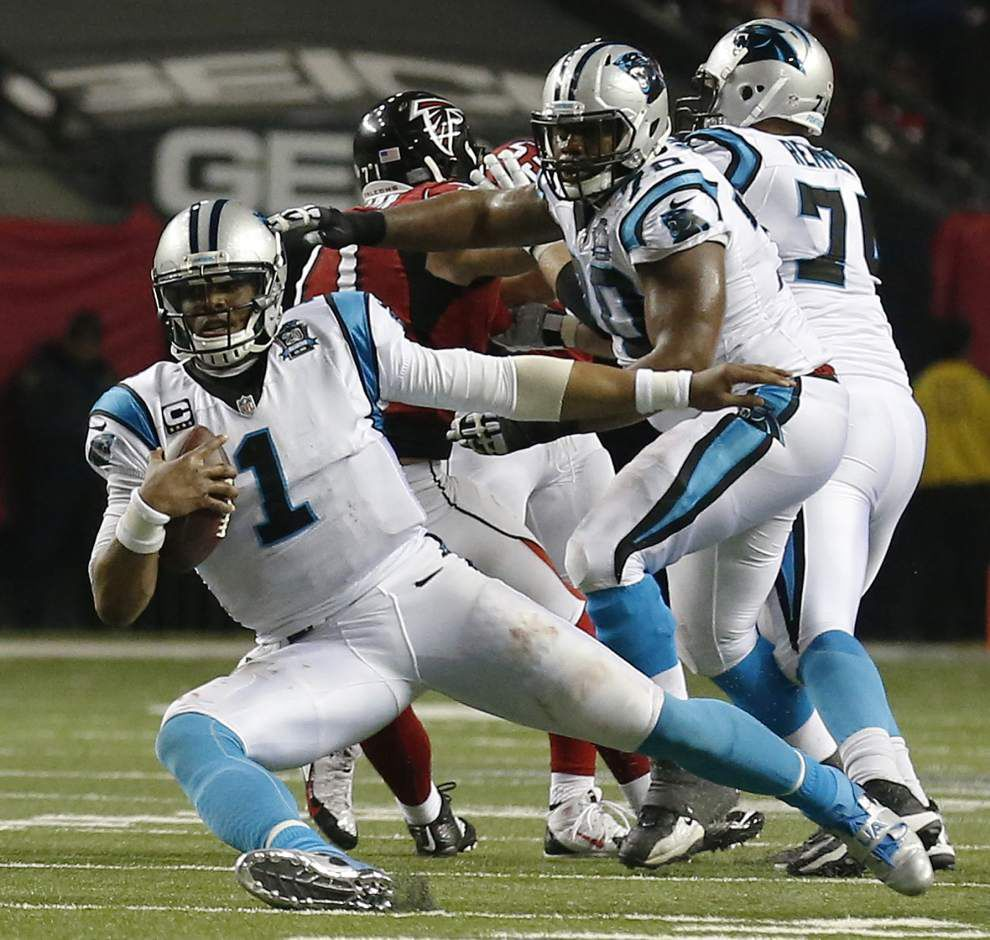 Stopping Cam Newton key for Cardinals _lowres