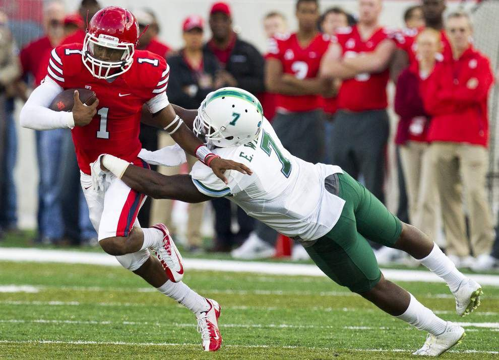 Tulane linebacker Edward Williams starting to mature _lowres