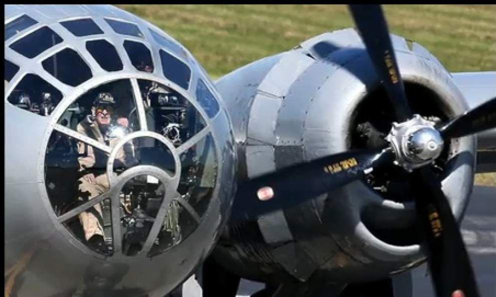 Video: B-29 World War II display at Lakefront Airport _lowres