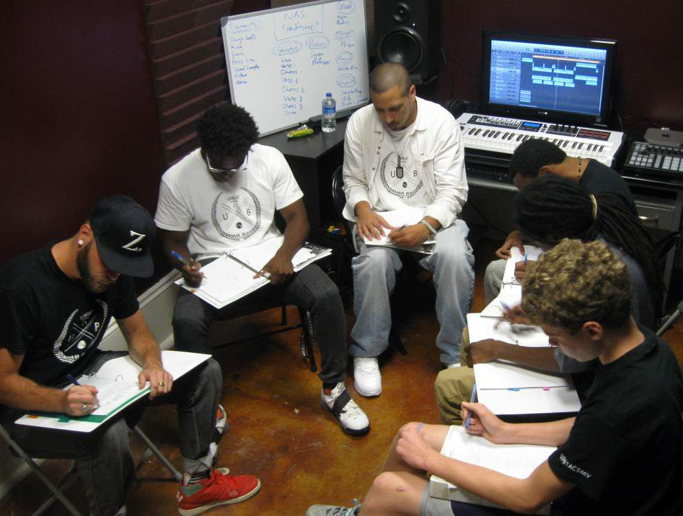 Academy teaches beats to aspiring musicians _lowres