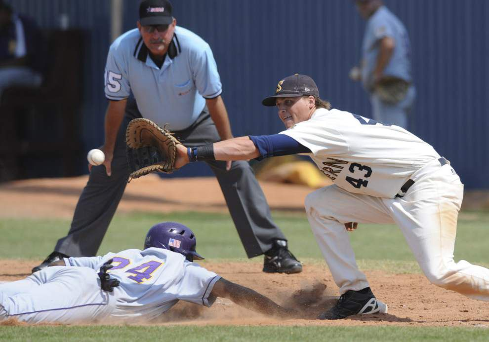Former Southern baseball standout Frazier Hall still chasing the dream _lowres