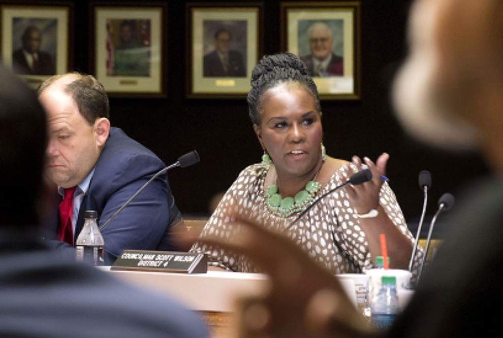 EBR council votes 8-3 to dismiss Parish Attorney Mary Roper _lowres