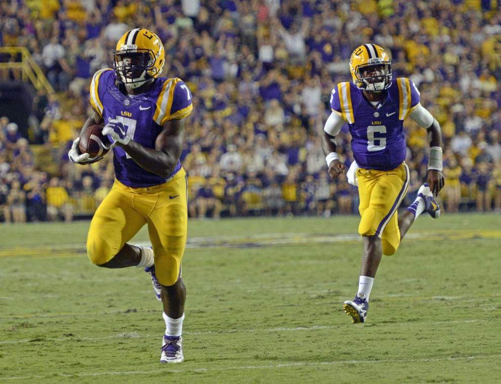 Rabalais: What more do you need to see? Brandon Harris should be LSU's starting quarterback _lowres