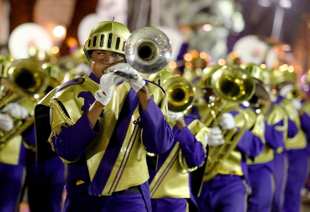 10 parades to catch the St. Aug Marching 100 this Carnival _lowres
