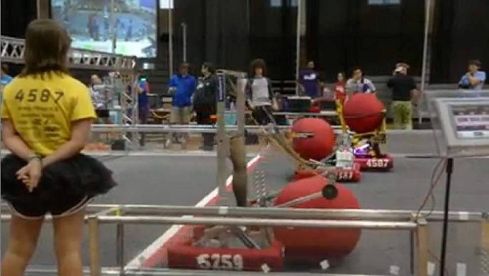 Robots compete in annual Redstick Rumble _lowres