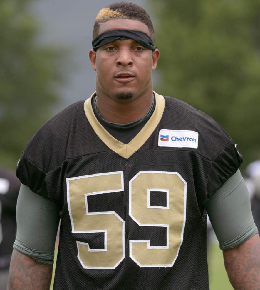 Saints offensive line more upbeat in minicamp _lowres