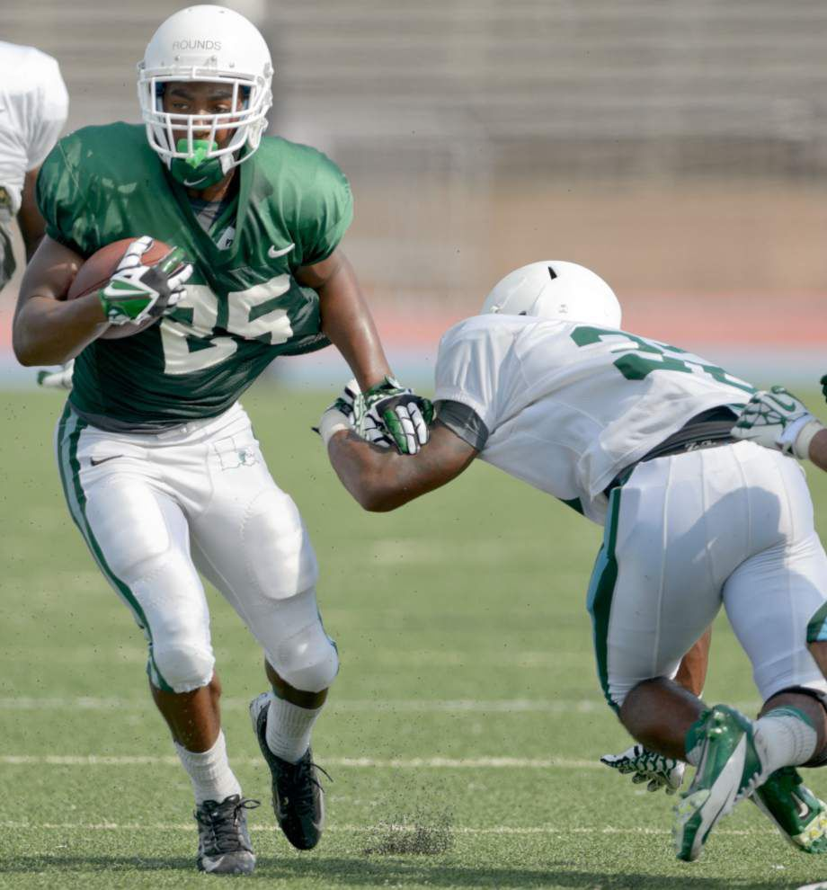 Tulane running back race 'very open' _lowres