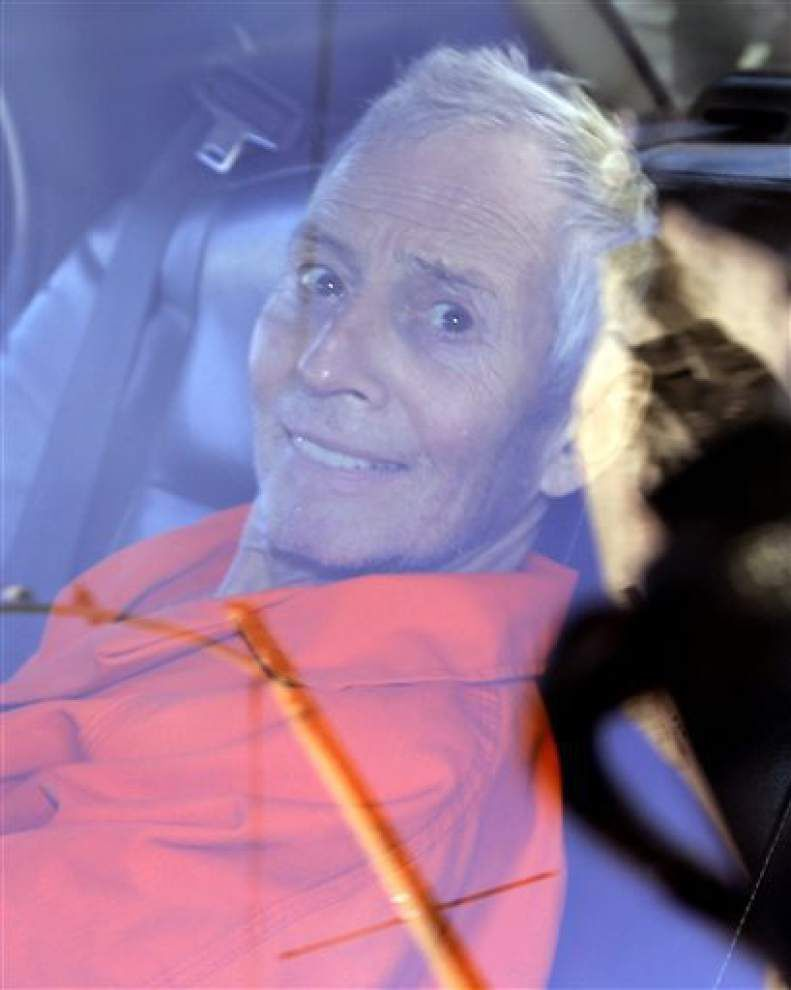 Robert Durst's attorneys claim he was arrested on 'insufficient' warrant, want hearing in New Orleans _lowres
