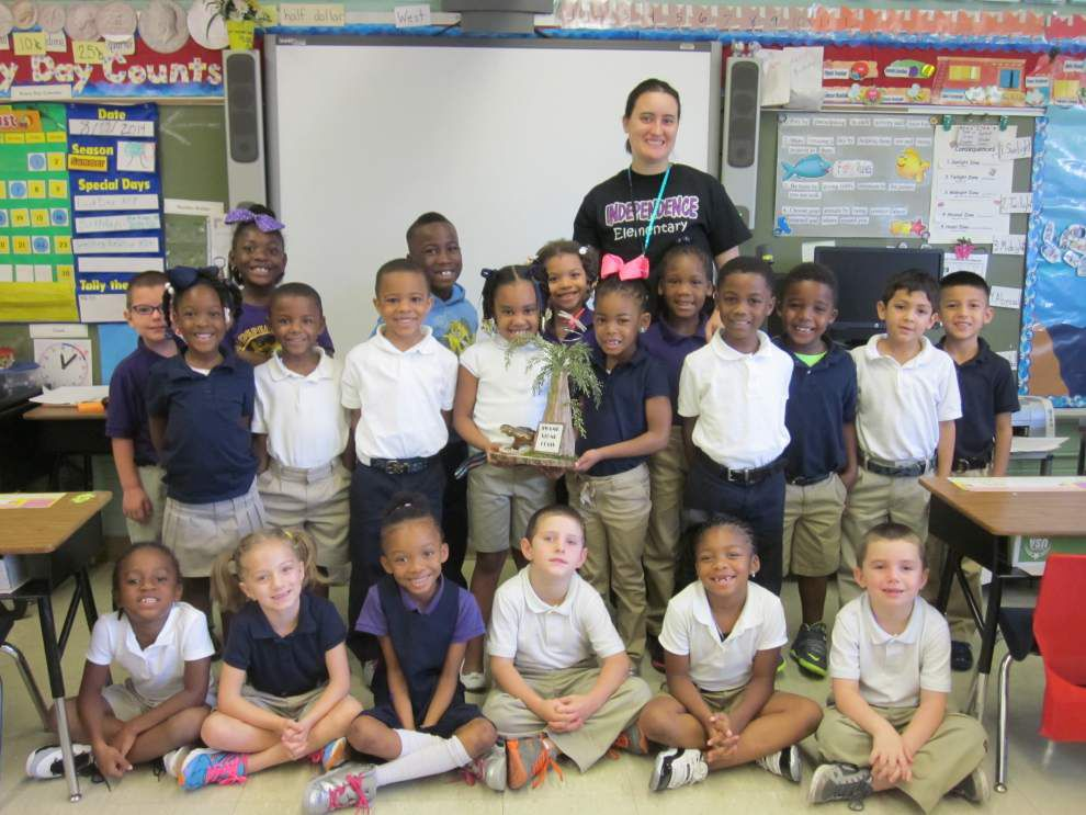 Independence first-grade class earns SWAMP award _lowres