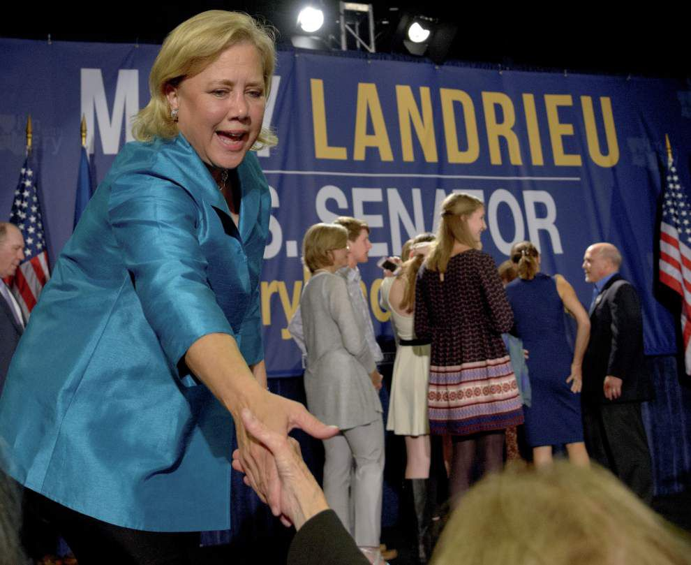 Mary Landrieu, Bill Cassidy move on to Dec. 6 runoff for U.S. Senate _lowres