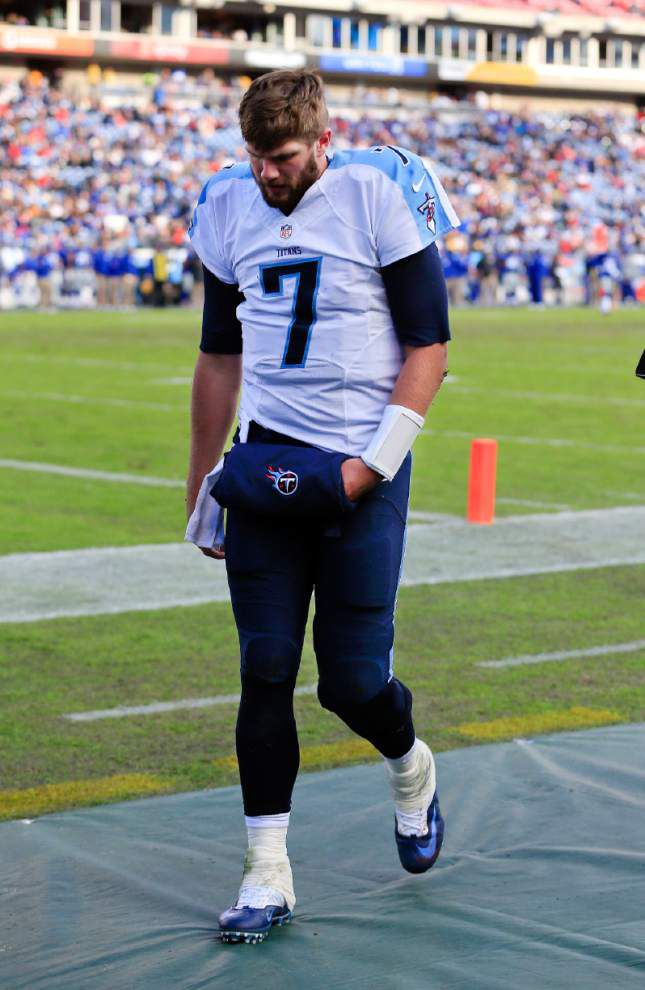 Tennessee Titans waive former LSU quarterback Zach Mettenberger _lowres