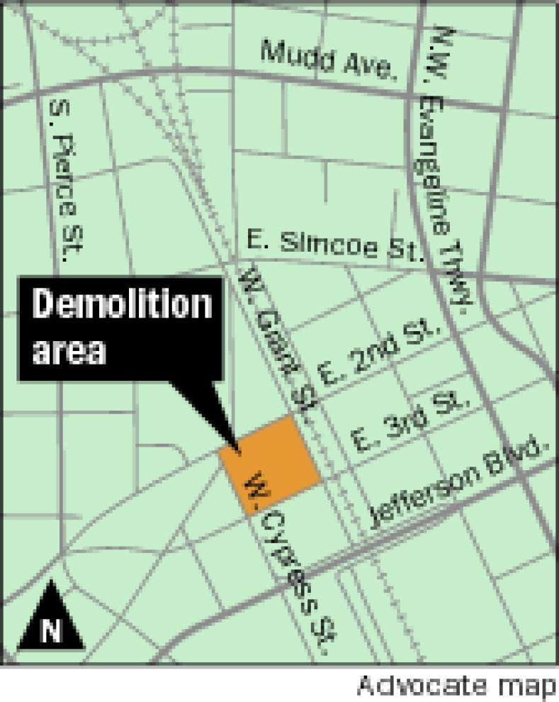 Lafayette officials seek to spare building from wrecking ball _lowres