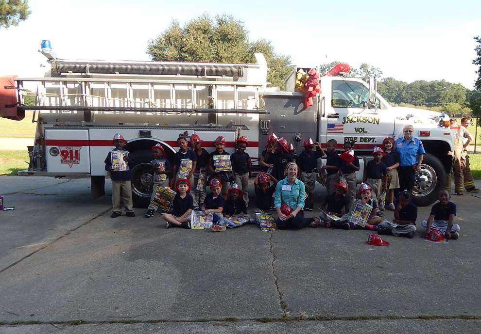 Jackson students learn fire safety _lowres
