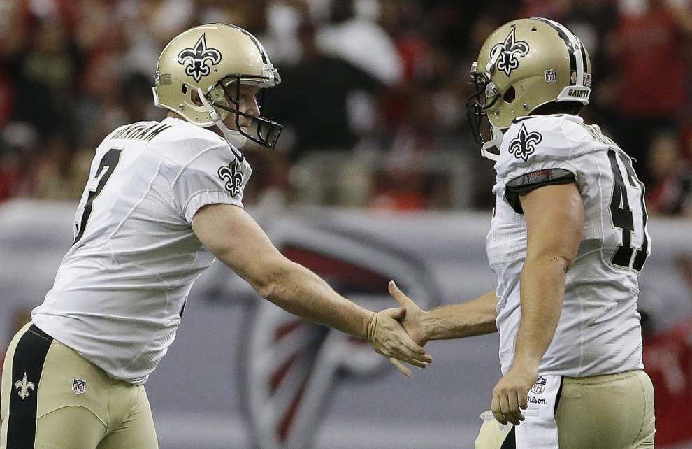 Ted Lewis: Saints' Justin Drescher has had a snappy career _lowres