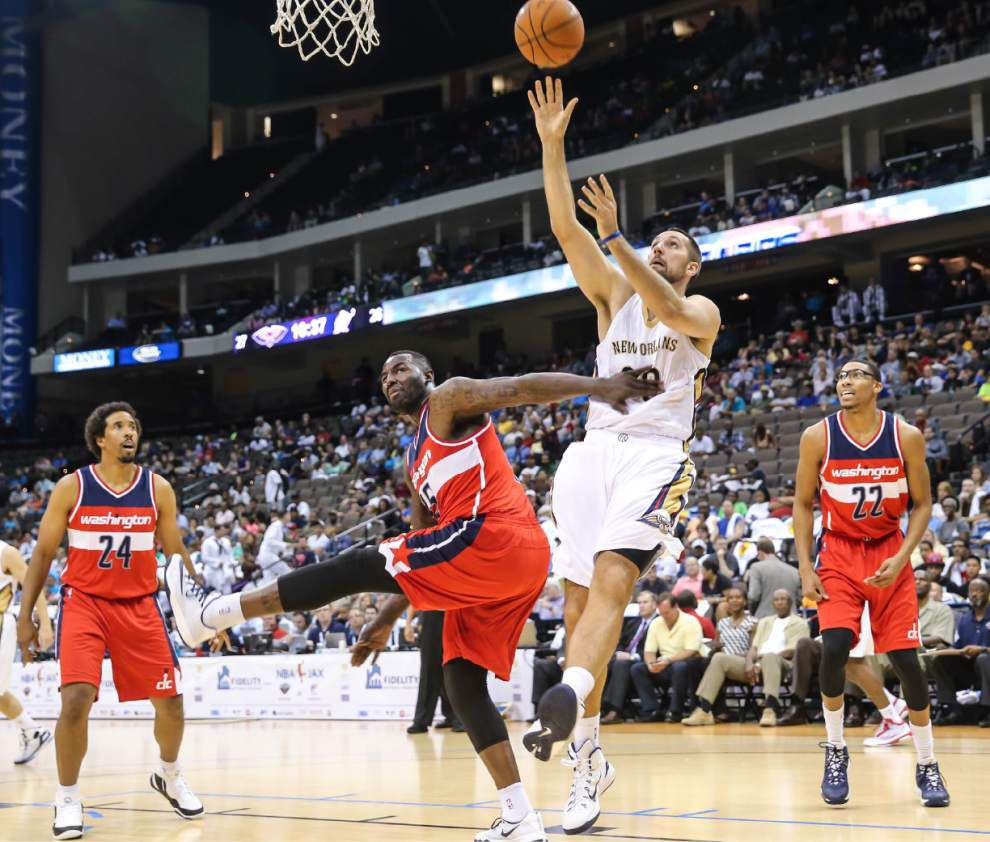 Pelicans' Ryan Anderson scores 14 in loss to Wizards _lowres