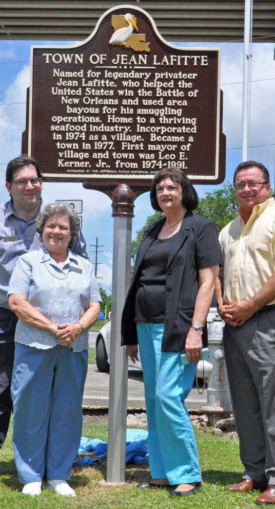 Town of Jean Lafitte honored with historical marker _lowres