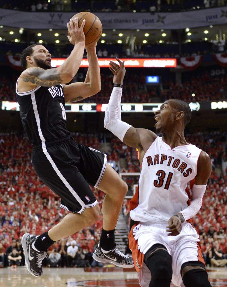 NBA roundup: Paul Pierce's block leads Nets past Raptors 104-103 _lowres