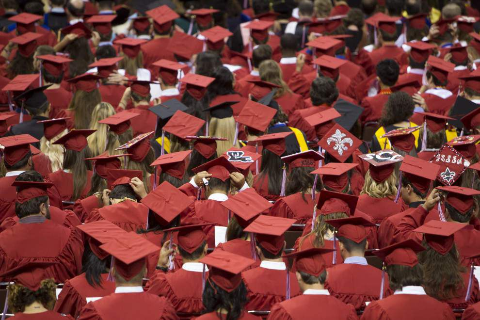 UL-Lafayette grads prepare for next phase of lives _lowres