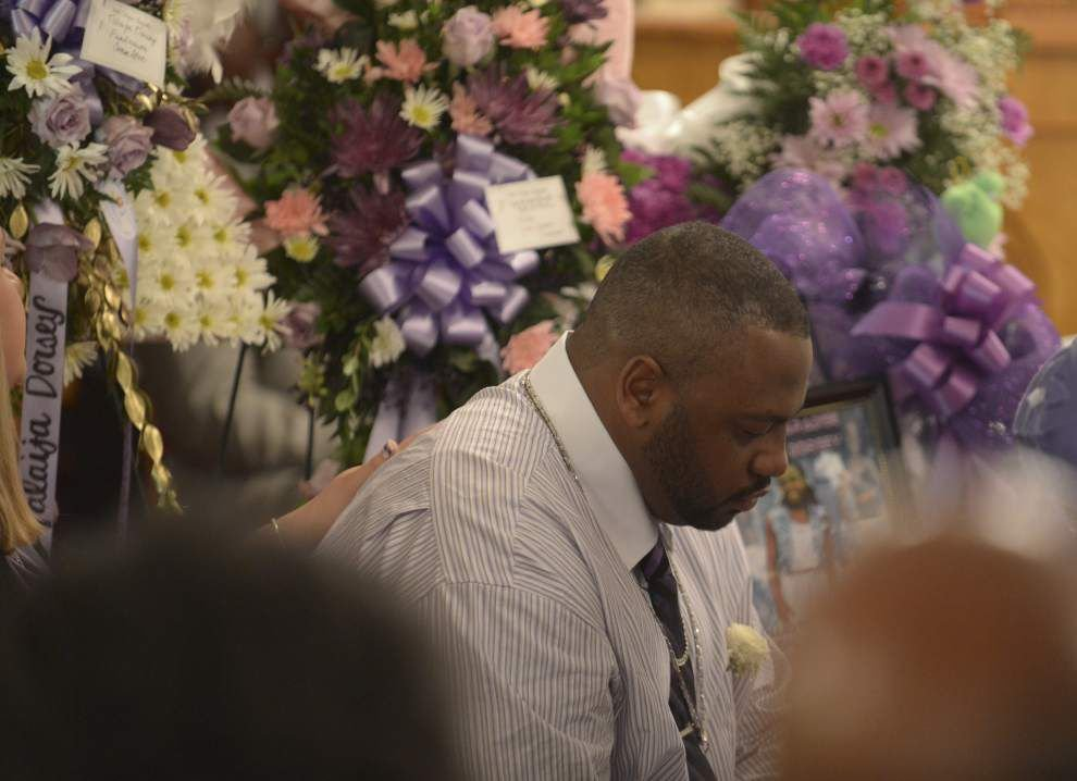 Mourners overwhelmed at 12-year-old's funeral _lowres