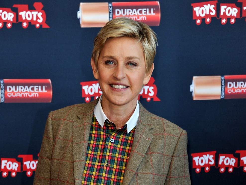 Ellen DeGeneres, Brad Paisley give St. Joseph's Academy a shout out for its food drive for homeless _lowres