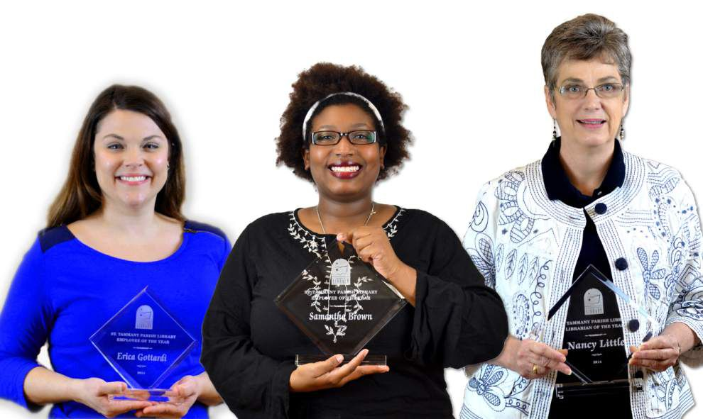 St. Tammany Parish Library honors employees for work _lowres