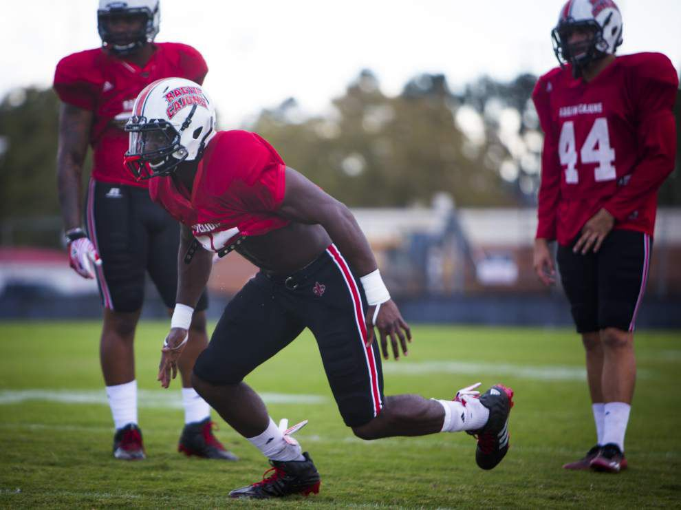 UL-Lafayette seniors set to play final game at Cajun Field _lowres
