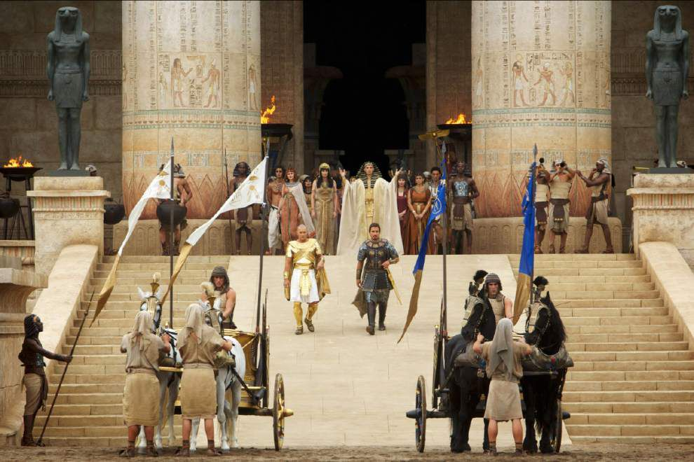Scott, Bale defend choice on 'Exodus' casting _lowres