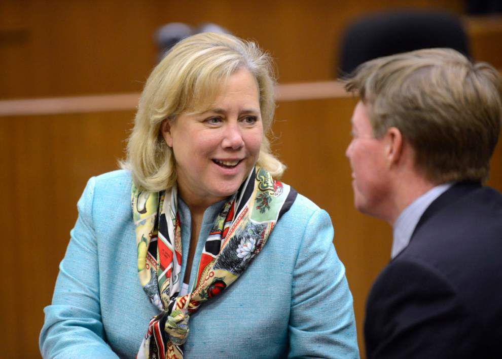 Mary Landrieu asks Bill Cassidy to bring records to the Monday debate _lowres
