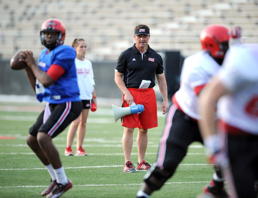 Cajuns tight end Larry Pettis having 'phenomenal camp' _lowres