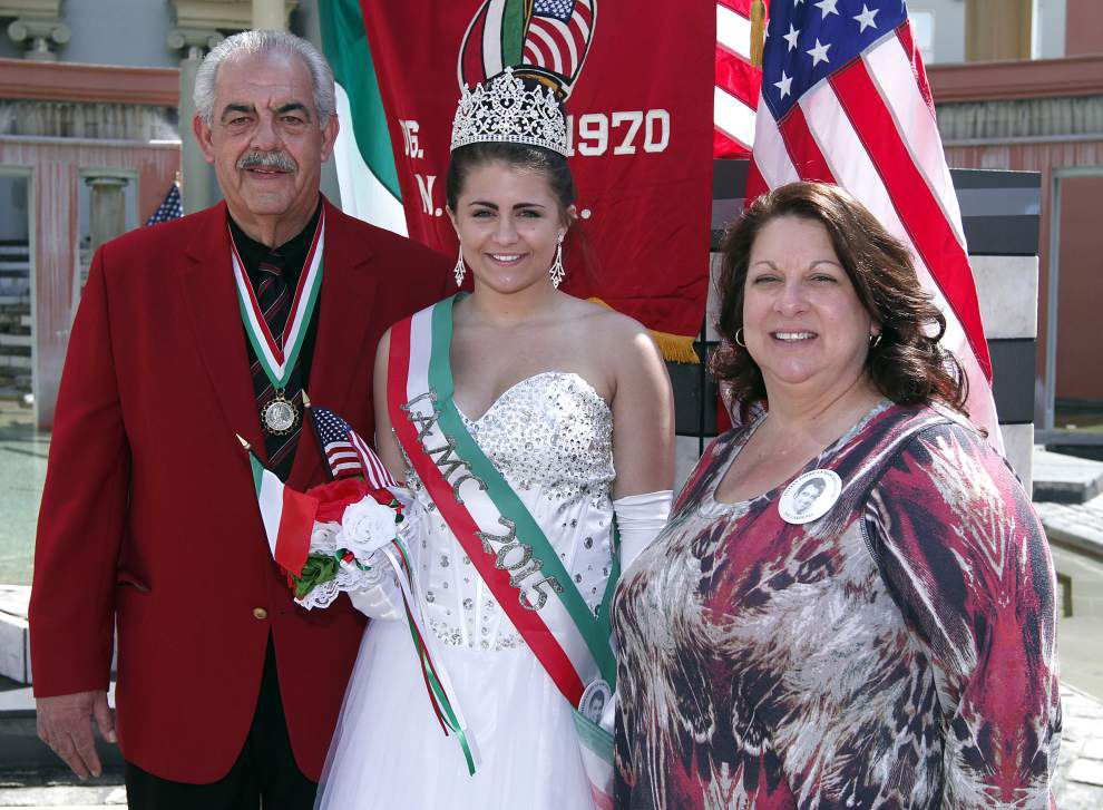 Nell Nolan: UNCF Mayor's Masked Ball, Italian-American Marching Club pre-parade party _lowres