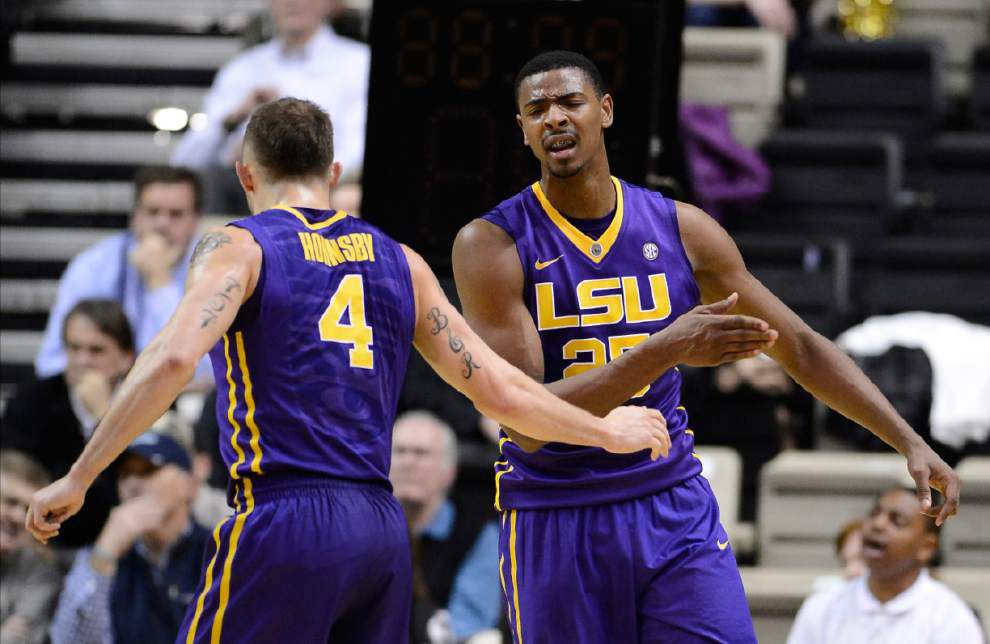 LSU basketball starting to creep higher in NCAA tournament bracket projections _lowres