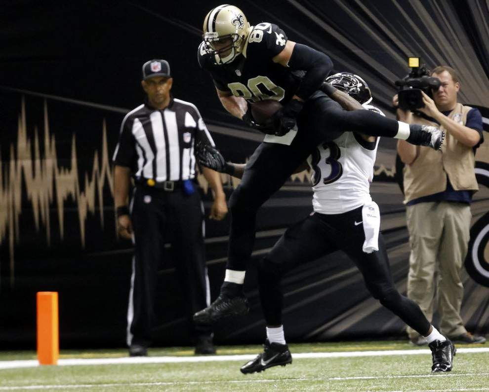 National pundits stunned by the Saints trade of tight end Jimmy Graham _lowres
