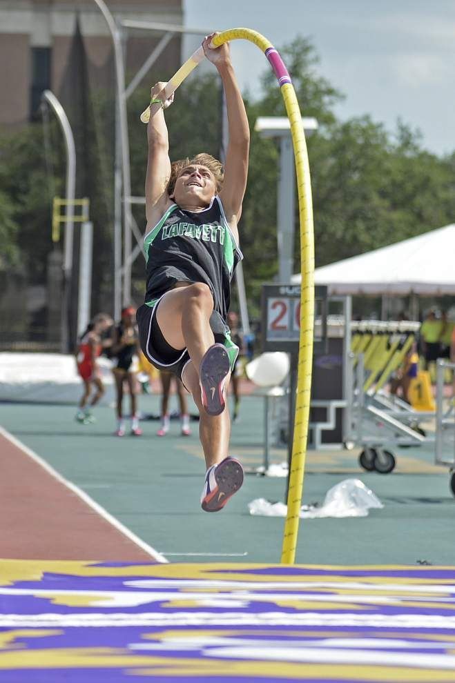 Lafayette High pole vaulter Armand Duplantis named Gatorade Louisiana Track & Field Athlete of the Year _lowres
