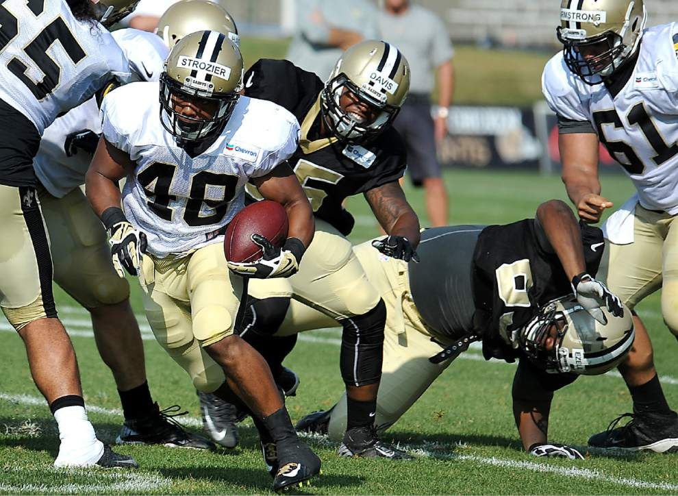 Reports from the Saints' Tuesday morning practice _lowres