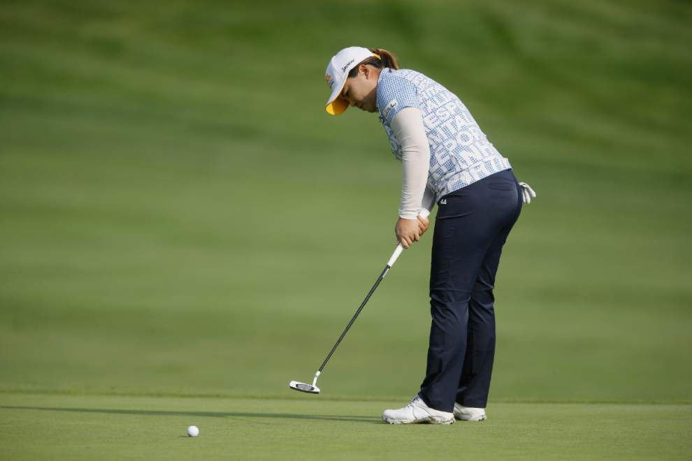 Inbee Park leads Meijer LPGA Classic by one _lowres