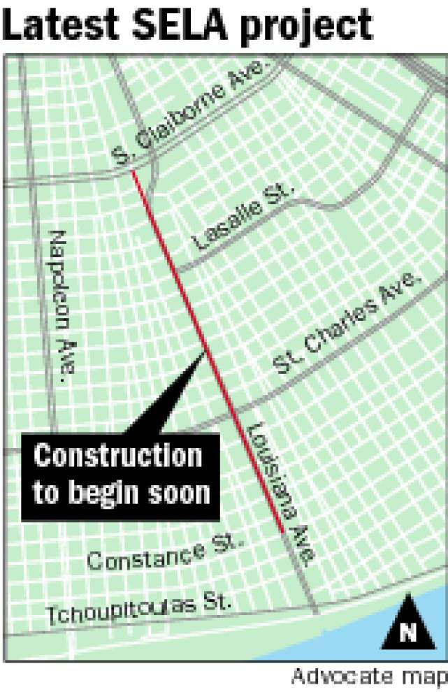 Drainage work on Louisiana Avenue to start in earnest _lowres