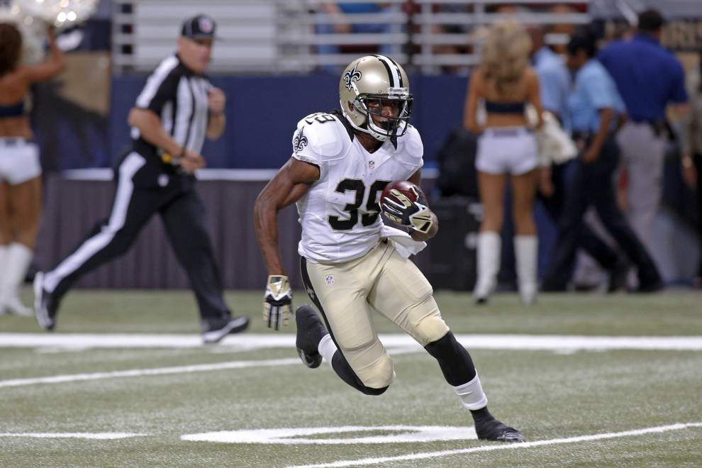 Saints are looking for ways to fill void of not having Darren Sproles this season _lowres