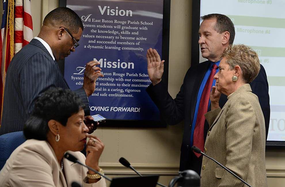 East Baton Rouge School Board retains Tatman as president _lowres