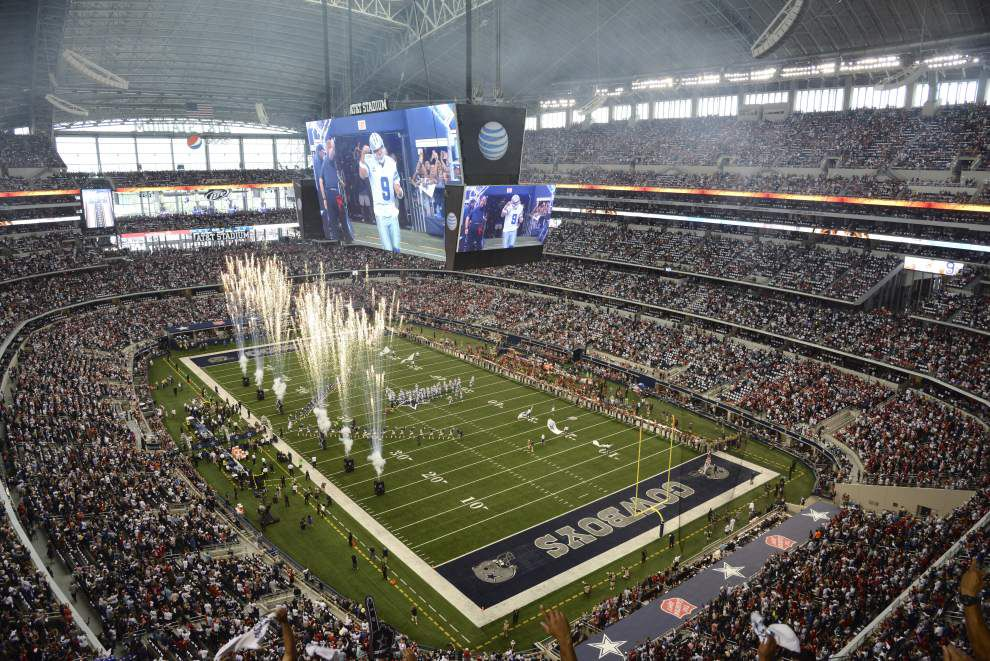 Lewis: How do the New Orleans Saints rank AT&T Stadium? What are their favorite away NFL stadiums? _lowres