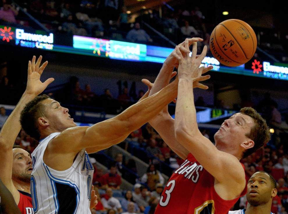 The New Orleans Pelicans hope to pick up the slack inside for injured center Omer Asik until he returns _lowres