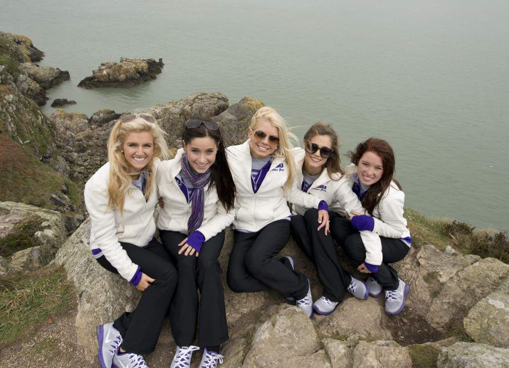 LSU Tiger Band touring Dublin, Ireland _lowres
