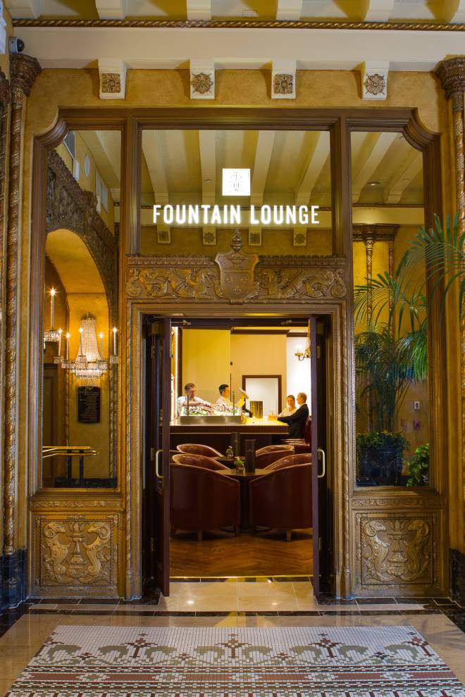 Restored and updated Fountain Lounge offers modern flair _lowres
