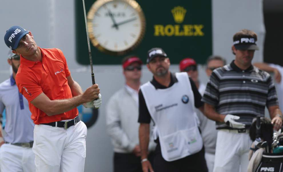 Billy Horschel fires 63 to take BMW lead _lowres