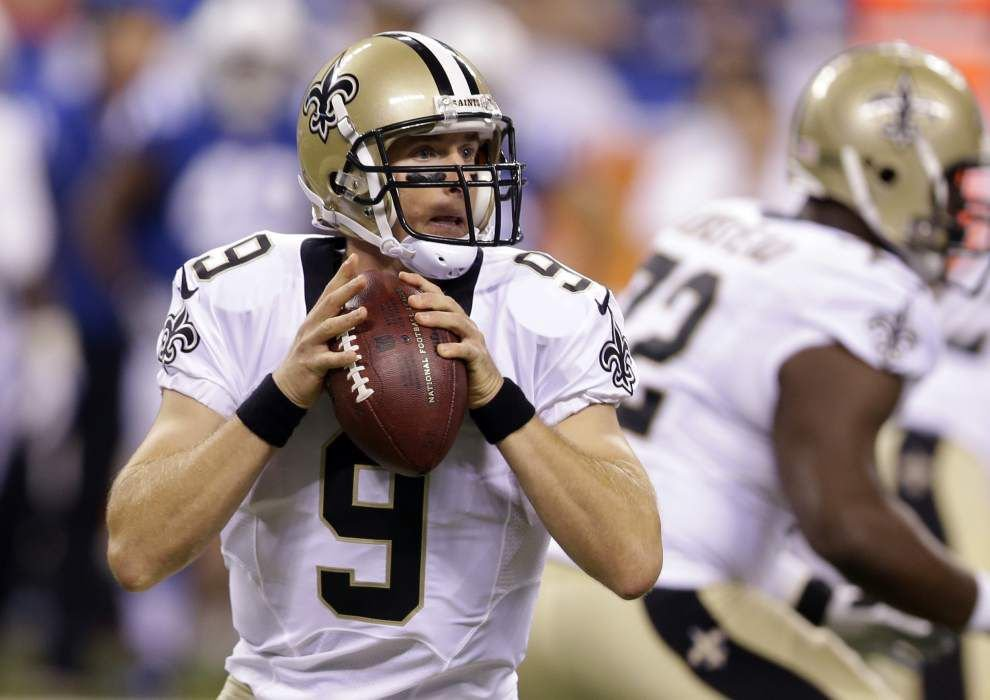 Saints see all they need to from Drew Brees, beat Colts _lowres